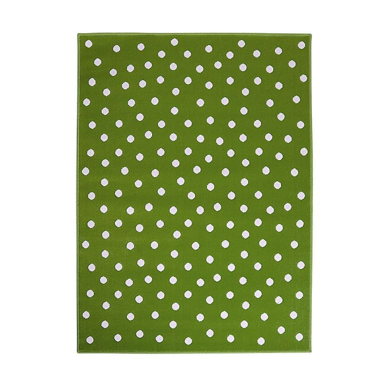 tapis enfant vert lorena canals dot 200x300. Black Bedroom Furniture Sets. Home Design Ideas
