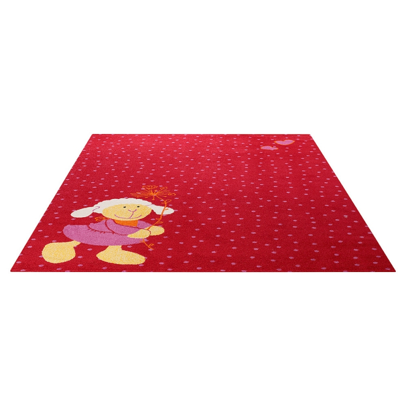 tapis enfant schnuggi sigikid rouge 200x290. Black Bedroom Furniture Sets. Home Design Ideas
