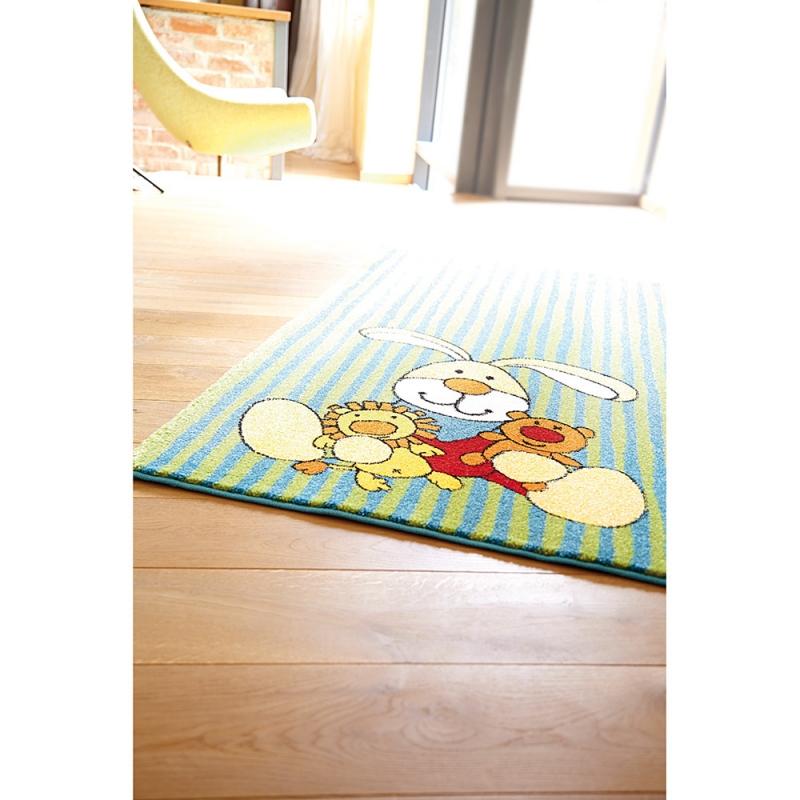 tapis enfant vert sigikid semmel bunny 120x170. Black Bedroom Furniture Sets. Home Design Ideas