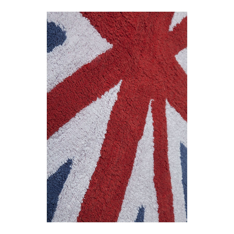 tapis enfant flag england bleu et rouge lorena canals 140x200. Black Bedroom Furniture Sets. Home Design Ideas