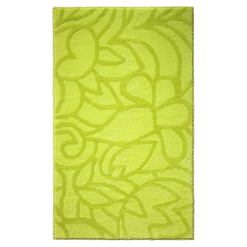 tapis de bain vert flower shower esprit home 70x120. Black Bedroom Furniture Sets. Home Design Ideas