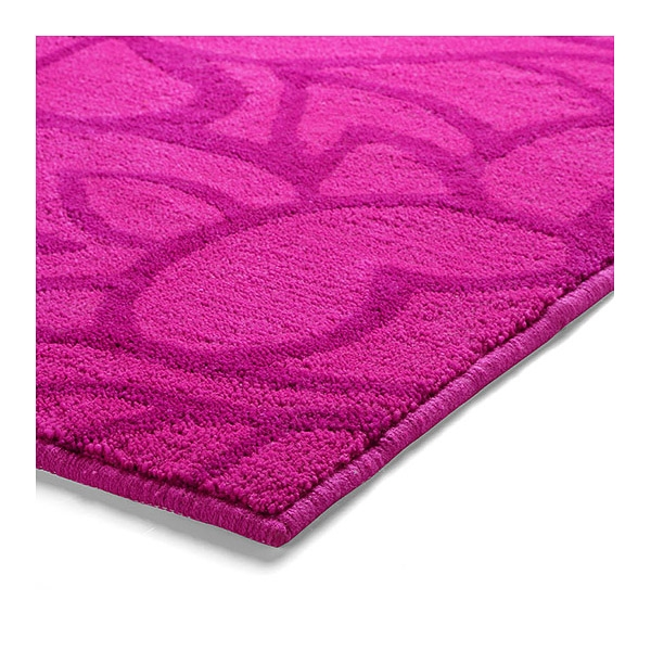 tapis de bain flower shower esprit home rose 60x100. Black Bedroom Furniture Sets. Home Design Ideas