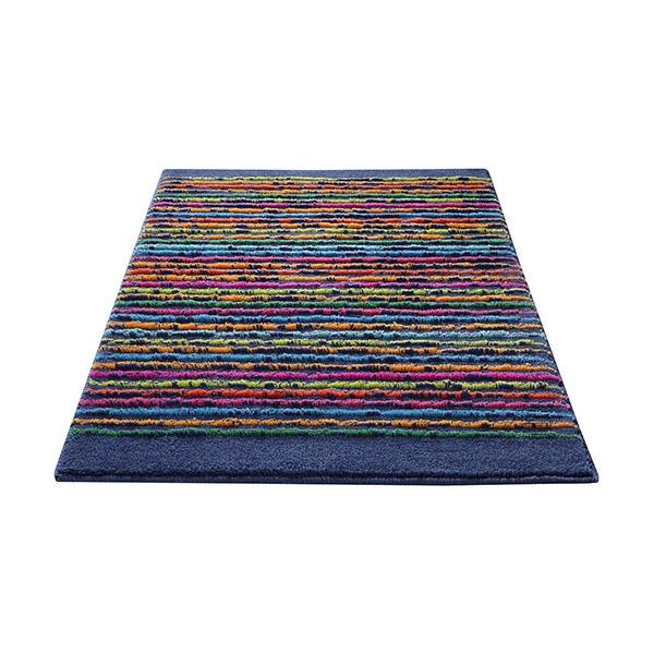 tapis de bain bleu cool stripes esprit home 70x120. Black Bedroom Furniture Sets. Home Design Ideas