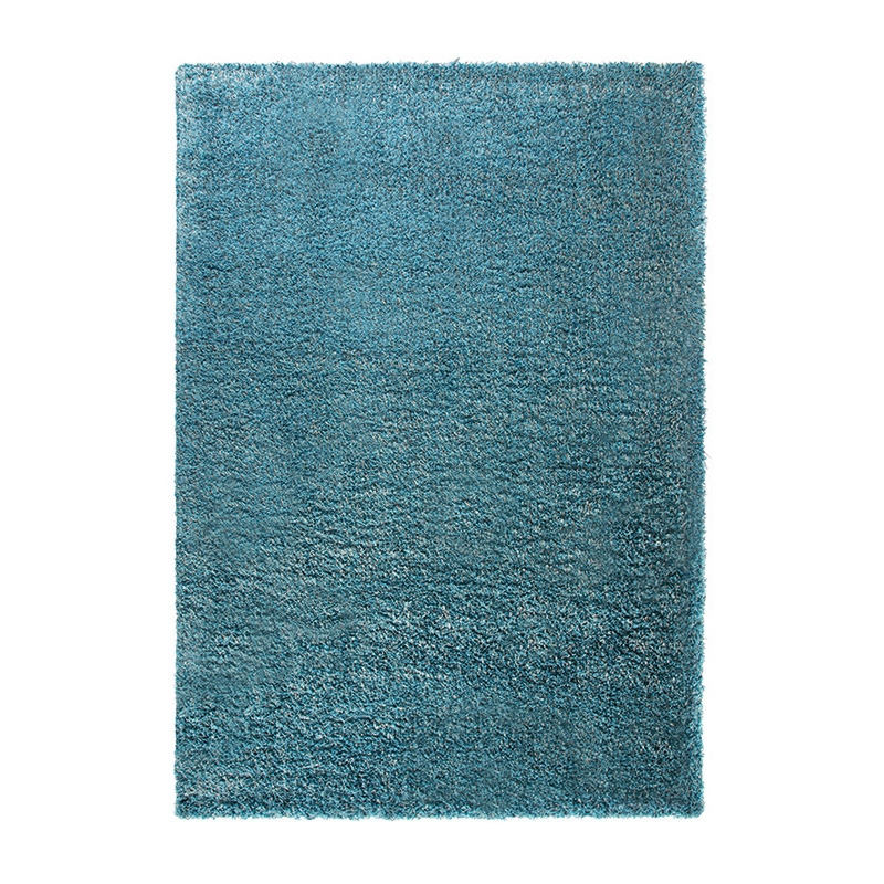 tapis cosy glamour shaggy bleu esprit home 80x150. Black Bedroom Furniture Sets. Home Design Ideas