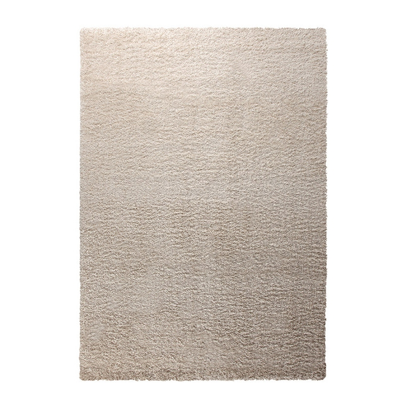 tapis shaggy esprit home cosy glamour blanc 160x225