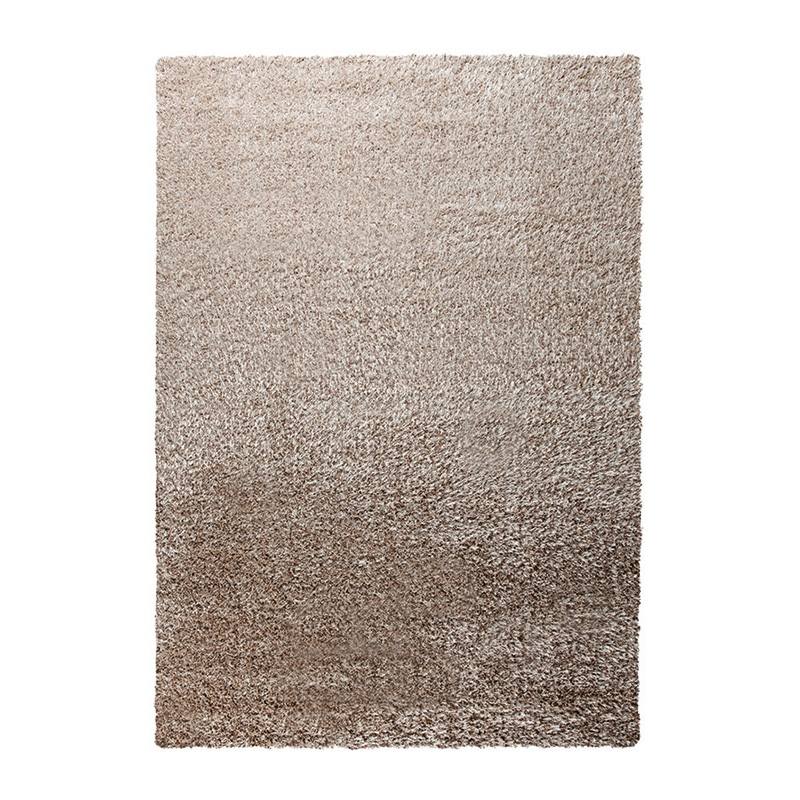 tapis taupe esprit home shaggy cosy glamour 160x225. Black Bedroom Furniture Sets. Home Design Ideas