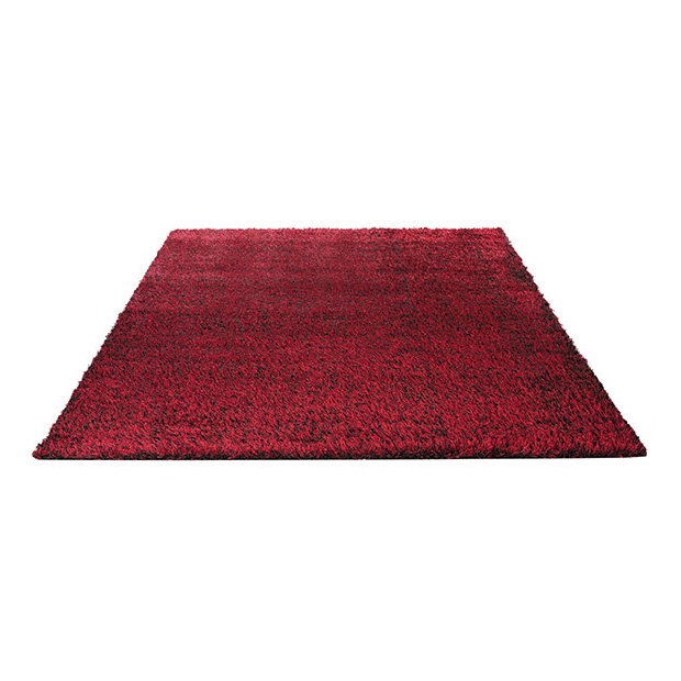 tapis esprit home shaggy cosy glamour rouge 200x200. Black Bedroom Furniture Sets. Home Design Ideas