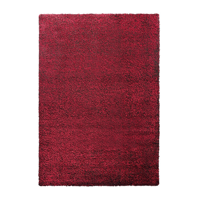 Tapis shaggy rouge cosy glamour esprit home 200x290 - Tapis shaggy 200x290 ...
