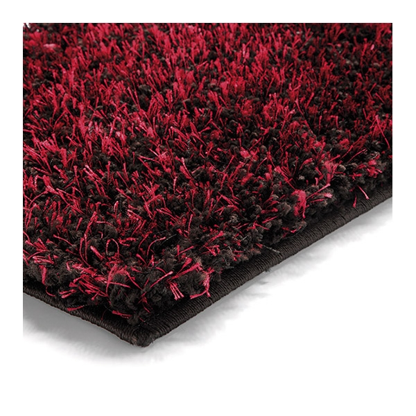 tapis shaggy cosy glamour rouge esprit home 60x110. Black Bedroom Furniture Sets. Home Design Ideas