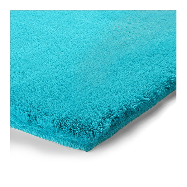 Latest tapis de bain event bleu turquoise esprit home with for Tapis bleu turquoise chambre