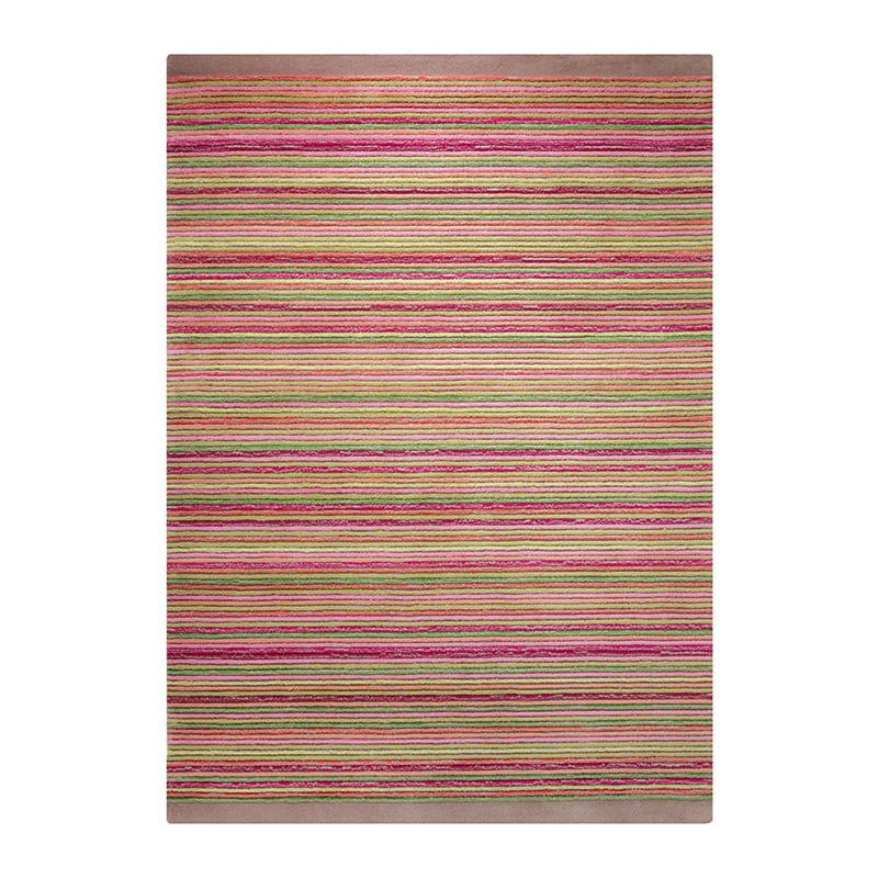 tapis multicolore moderne samba stripes esprit home 200x200. Black Bedroom Furniture Sets. Home Design Ideas