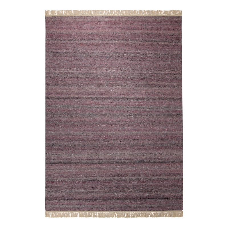 tapis aubergine blurred esprit home 160x230. Black Bedroom Furniture Sets. Home Design Ideas