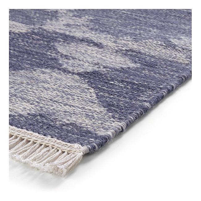 tapis esprit home denim batik bleu 130x190. Black Bedroom Furniture Sets. Home Design Ideas