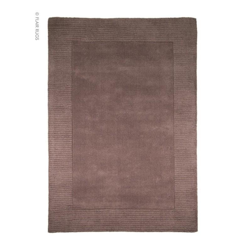 tapis moderne laine violet siena flair rugs 80x150. Black Bedroom Furniture Sets. Home Design Ideas