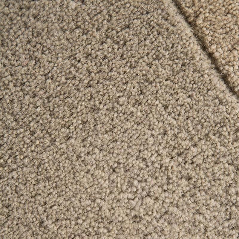 tapis laine tuft main marron collage flair rugs 90x150. Black Bedroom Furniture Sets. Home Design Ideas