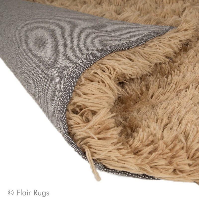 tapis shaggy tuft taupe sumptuous flair rugs 80x150. Black Bedroom Furniture Sets. Home Design Ideas