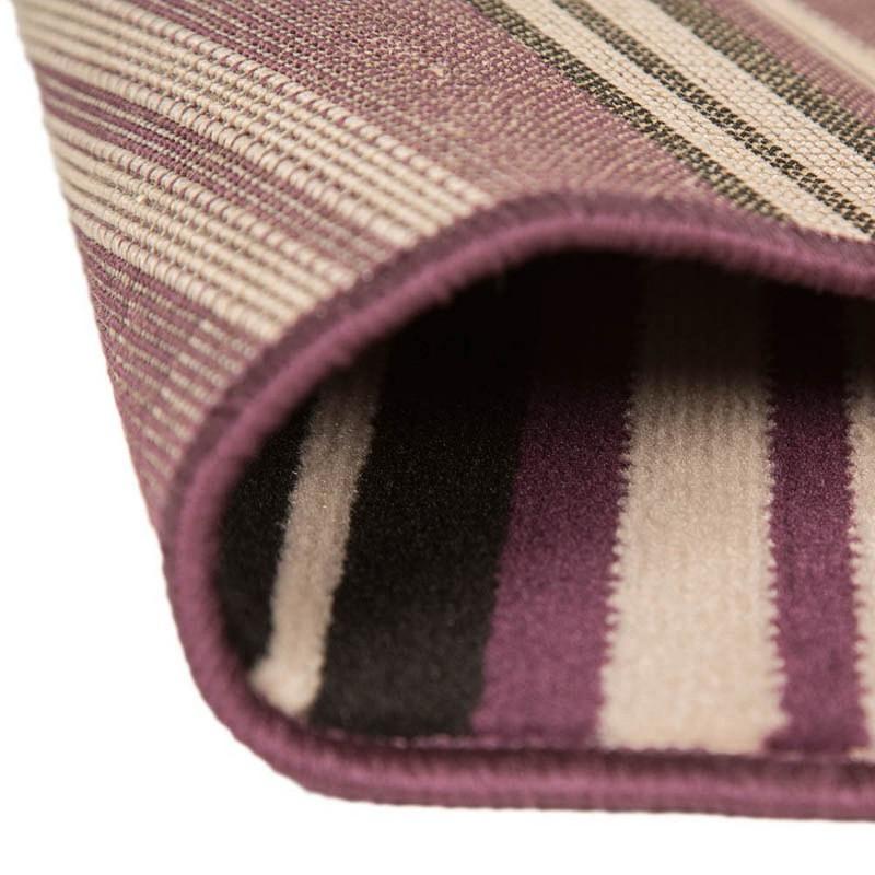 Tapis noir et violet canterbury flair rugs 120x160 - Tapis noir et violet ...