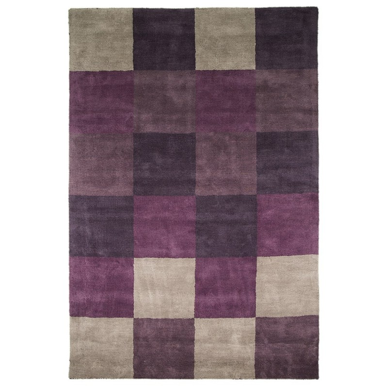 Tapis Violet Glade Check Flair Rugs 90x150