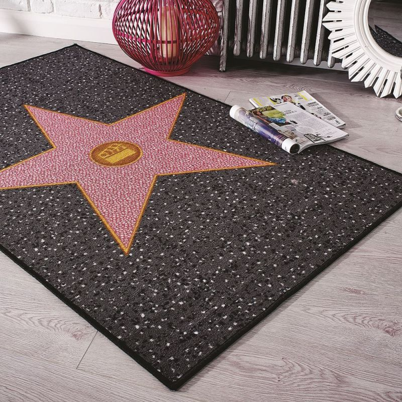 Tapis toile hollywood star flair rugs 100x160 for Quel couleur pour une chambre de fille