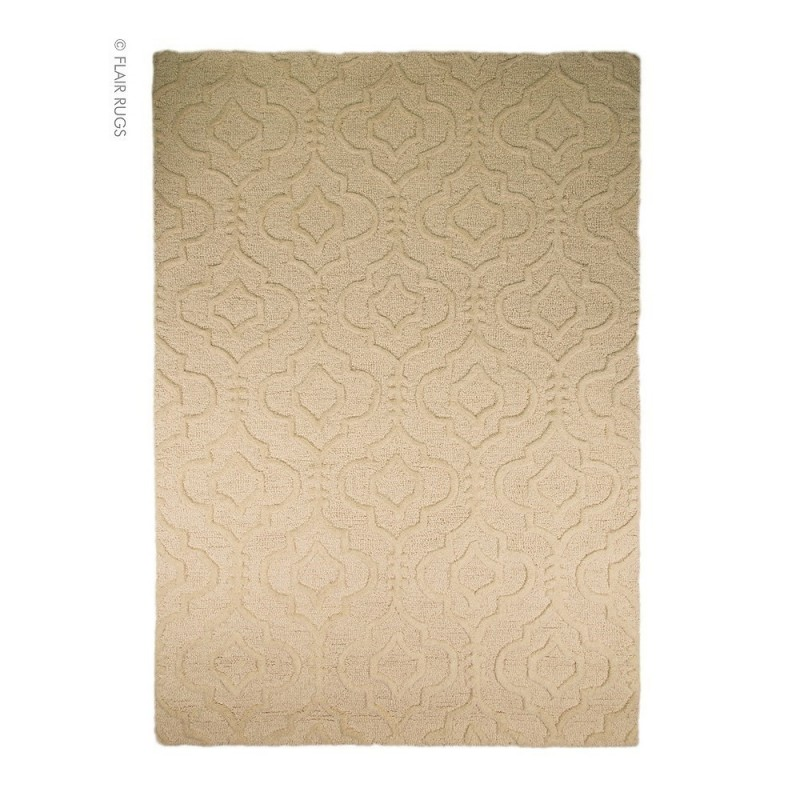 tapis laine fait main cr me marrakech flair rugs 80x150. Black Bedroom Furniture Sets. Home Design Ideas
