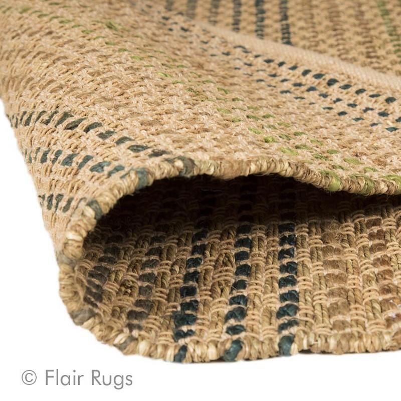 tapis fait main bleu seagrass flair rugs 120x170. Black Bedroom Furniture Sets. Home Design Ideas