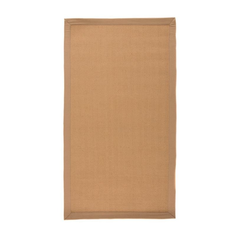 tapis de couloir antid rapant flair rugs herringbone beige