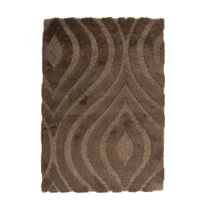 tapis shaggy gris jet flair rugs 120x170. Black Bedroom Furniture Sets. Home Design Ideas