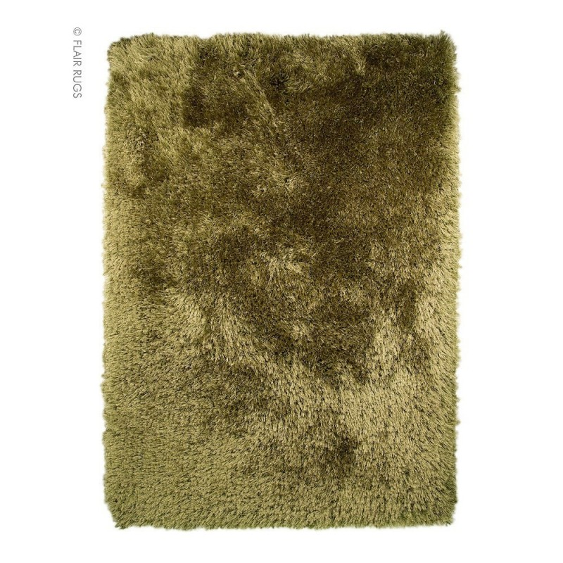 tapis shaggy tuft main vert pearl flair rugs 120x170. Black Bedroom Furniture Sets. Home Design Ideas