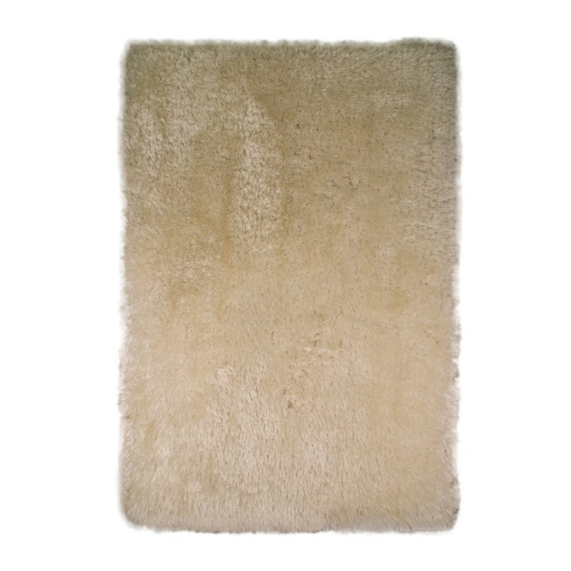 tapis shaggy tuft main blanc pearl flair rugs 80x150. Black Bedroom Furniture Sets. Home Design Ideas