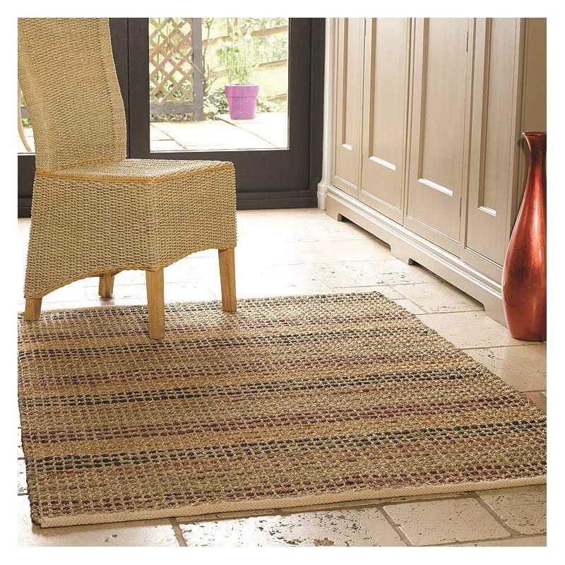 tapis fait main terracotta seagrass flair rugs 120x170. Black Bedroom Furniture Sets. Home Design Ideas