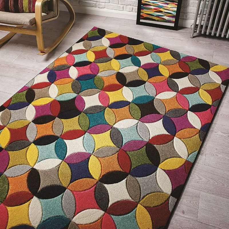 tapis mambo multicolore flair rugs 80x150. Black Bedroom Furniture Sets. Home Design Ideas