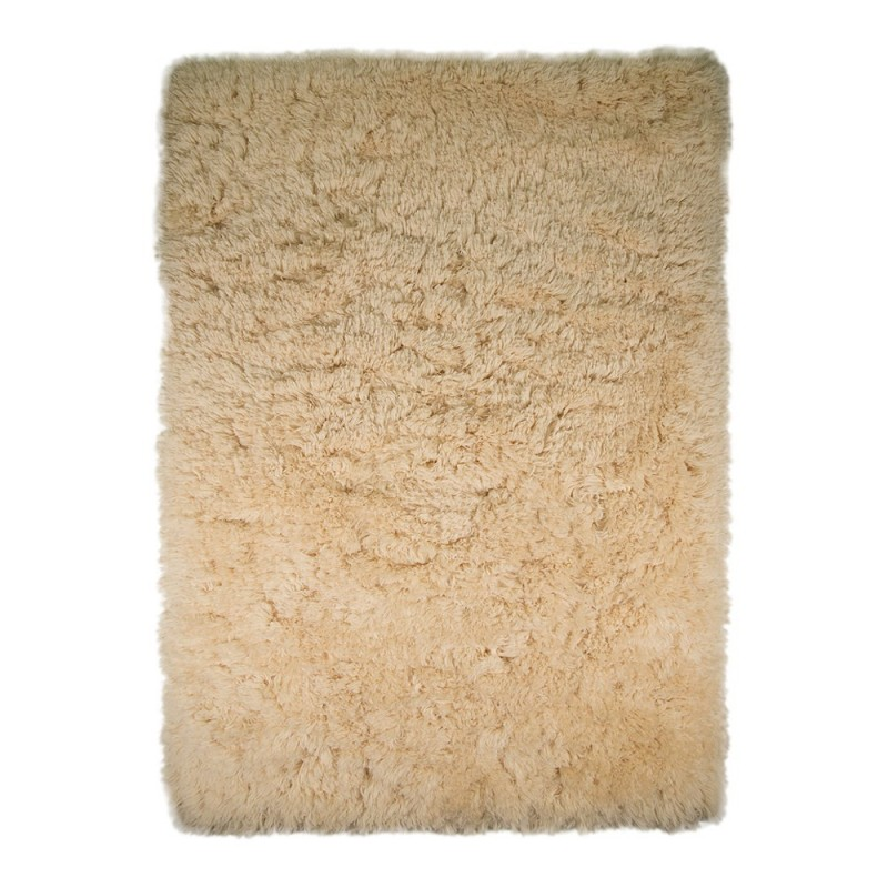 tapis shaggy tuft cr me sumptuous flair rugs 80x150. Black Bedroom Furniture Sets. Home Design Ideas