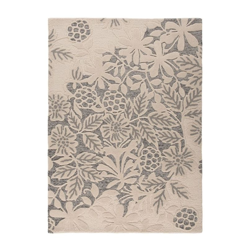 Tapis moderne blanc et gris loxley flair rugs 120x170 - Tapis gris blanc ...