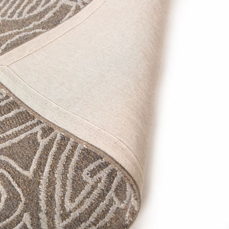 tapis moderne gris mendhi flair rugs 160x230. Black Bedroom Furniture Sets. Home Design Ideas