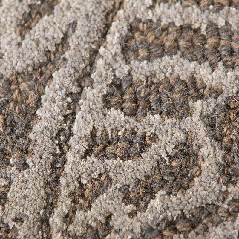 tapis moderne gris mendhi flair rugs 120x170. Black Bedroom Furniture Sets. Home Design Ideas