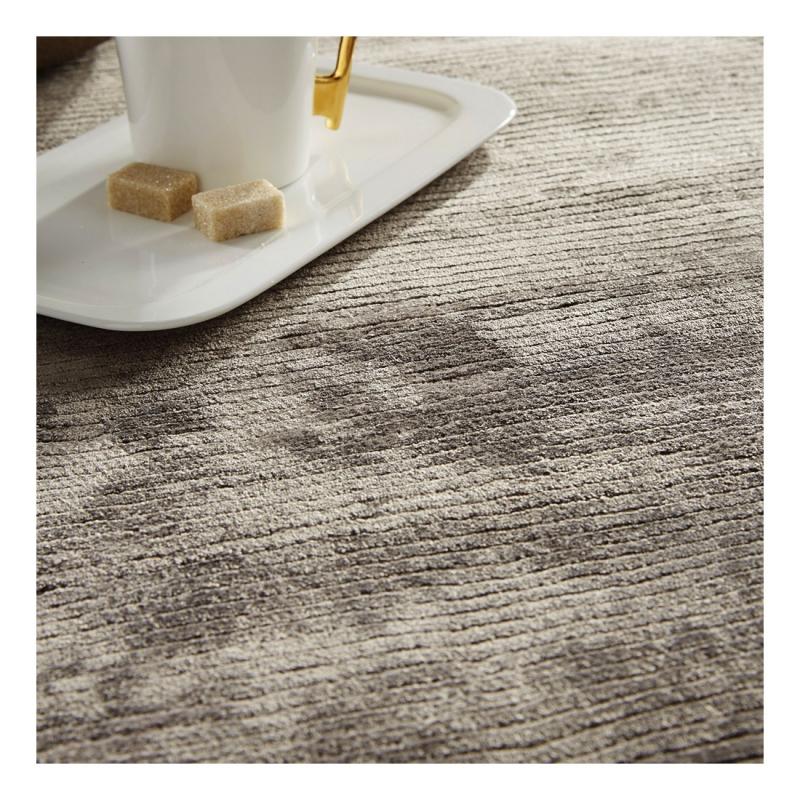 tapis en viscose gris harold home spirit 170x230. Black Bedroom Furniture Sets. Home Design Ideas