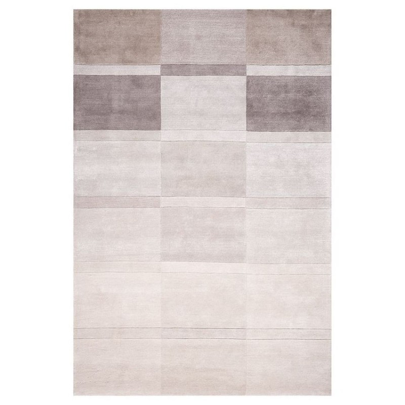 tapis laine tuft main marron love ligne pure 140x200. Black Bedroom Furniture Sets. Home Design Ideas