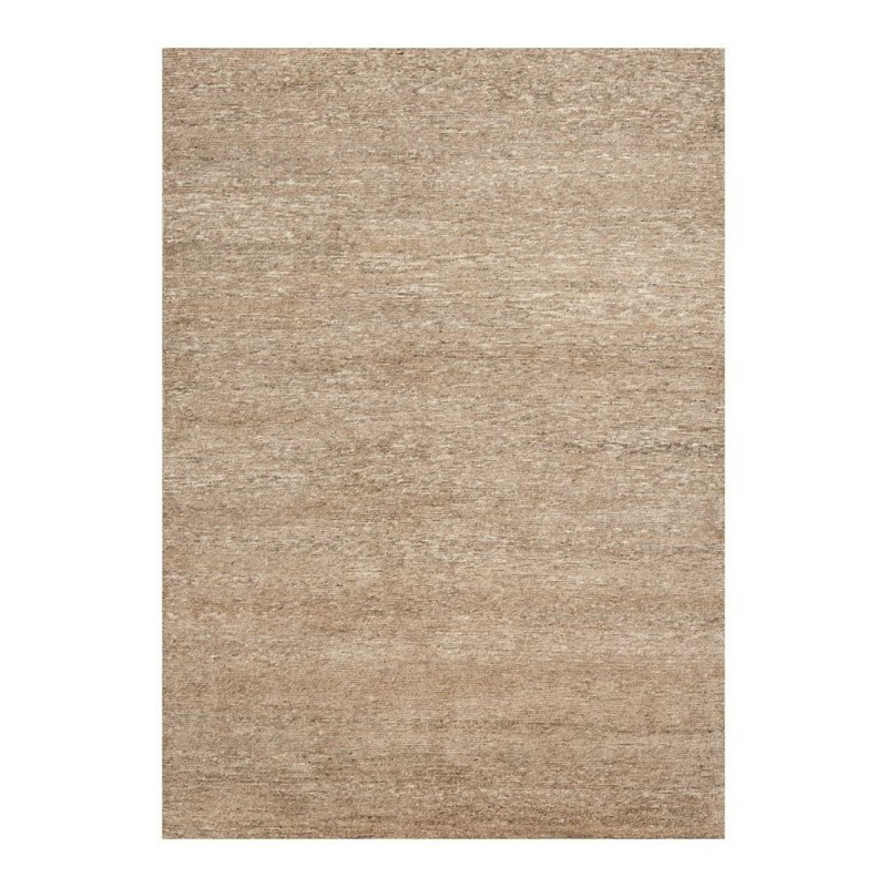 tapis laine nou main beige uni transform ligne pure 140x200. Black Bedroom Furniture Sets. Home Design Ideas