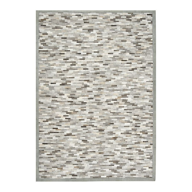 tapis peau de vache gris feel ligne pure 170x240. Black Bedroom Furniture Sets. Home Design Ideas