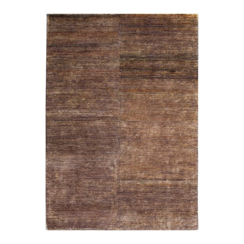 tapis ligne pure laine indo n palaise marron transform 200x300. Black Bedroom Furniture Sets. Home Design Ideas