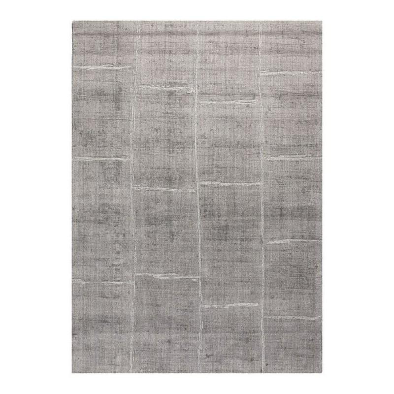 tapis reflect ligne pure viscose tiss main gris 200x300. Black Bedroom Furniture Sets. Home Design Ideas