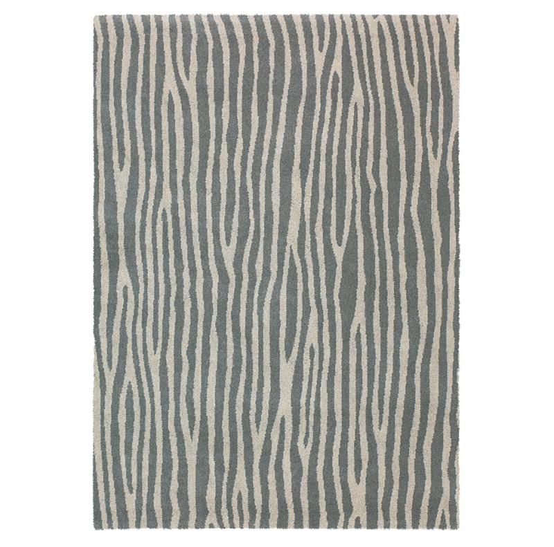 tapis spheric zebra beige et gris brink campman 140x200. Black Bedroom Furniture Sets. Home Design Ideas