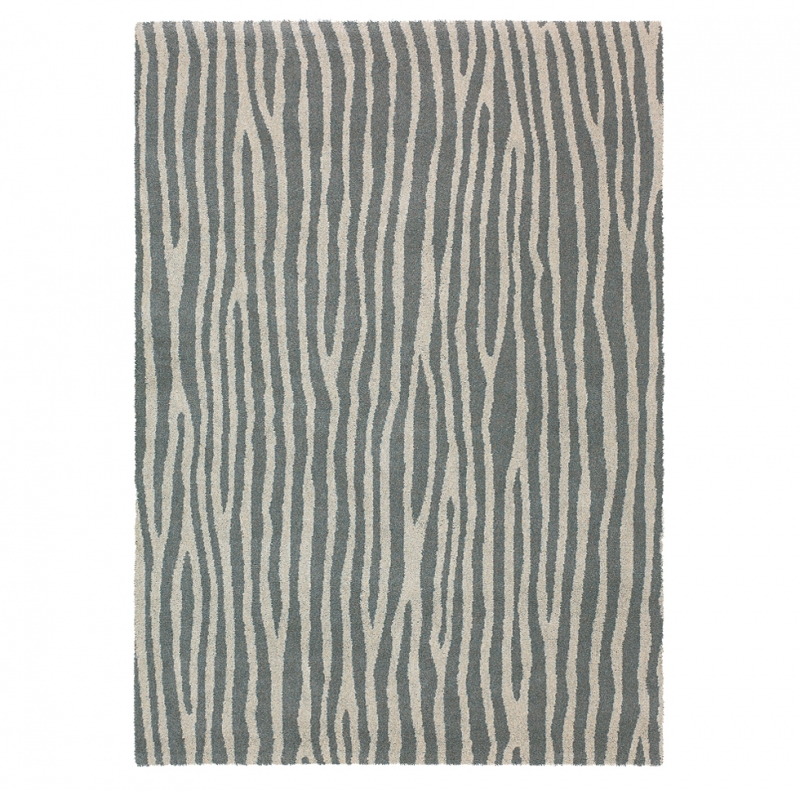 tapis spheric zebra brink campman beige et gris 200x280. Black Bedroom Furniture Sets. Home Design Ideas