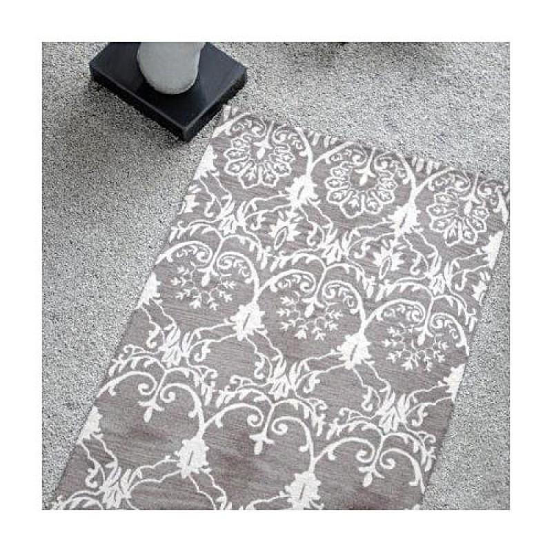 tapis tuft main masonic taupe the rug republic 160x230. Black Bedroom Furniture Sets. Home Design Ideas