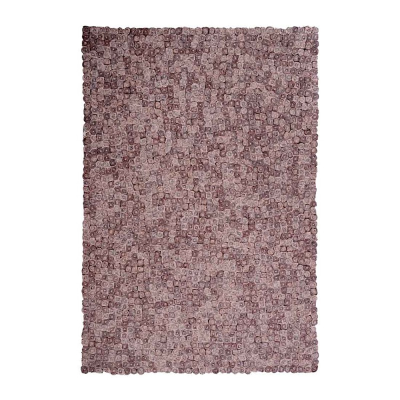 tapis fait main tailo marron the rug republic 160x230. Black Bedroom Furniture Sets. Home Design Ideas