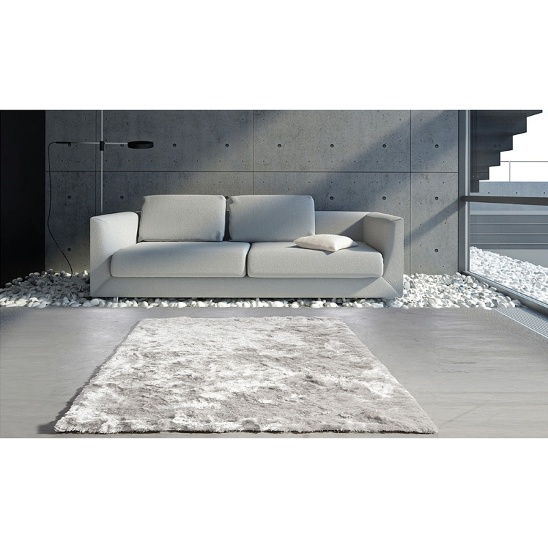 tapis gris clair trinity creations highland 200x280. Black Bedroom Furniture Sets. Home Design Ideas