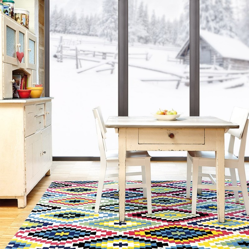 Tapis Esprit Home Multicolore Fresh Kilim 200x290
