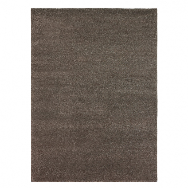 tapis pure laine vierge marron yeti brink campman 140x200. Black Bedroom Furniture Sets. Home Design Ideas
