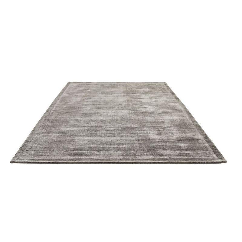 tapis en viscose gris emil home spirit 170x230. Black Bedroom Furniture Sets. Home Design Ideas