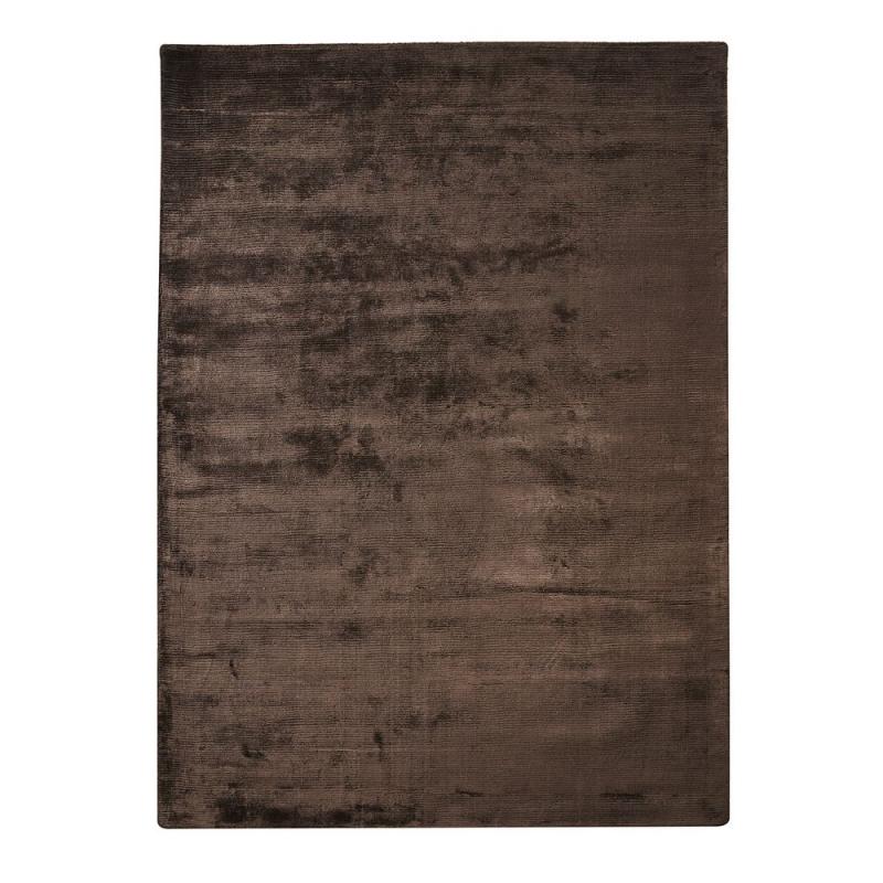 tapis en viscose home spirit harold marron 170x230. Black Bedroom Furniture Sets. Home Design Ideas